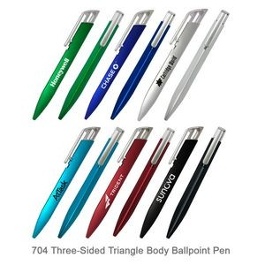 Three-Sided Triangle Body Ballpoint Pen