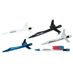 Airplane Ballpoint Pen With Folding Wings