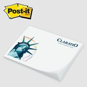"Custom Printed Post-it® Notes (3""x4"") 50 Sheets/ 4 Color"